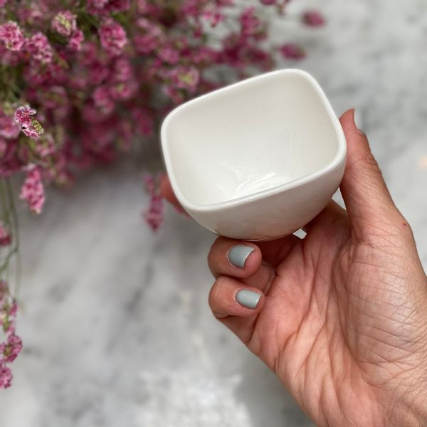 Mini vaso sake de cerámica