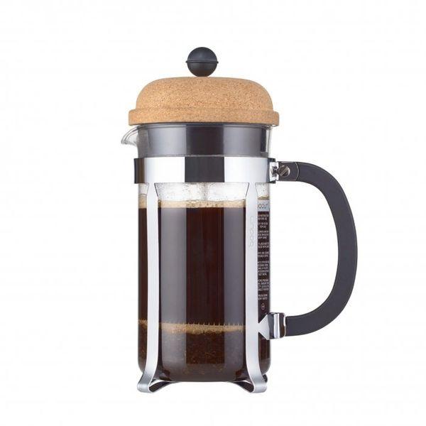 Cafetera Bodum Chambord Cork 8 pocillos