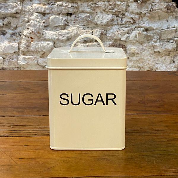 Lata  blanca sugar