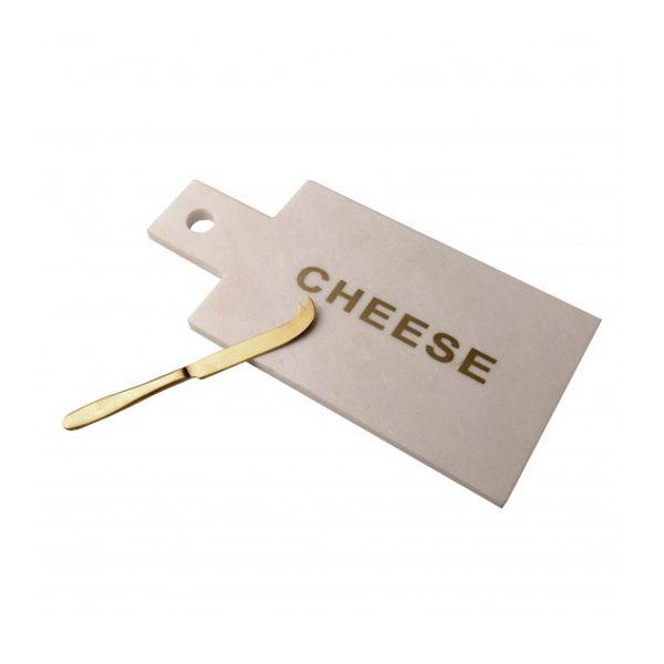 Set de tabla y cuchillo para queso