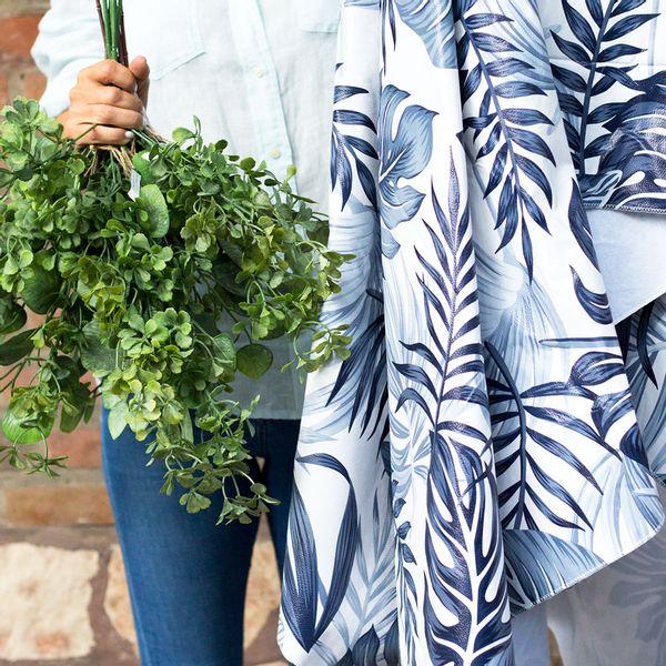 Mantel ecocuero Amazonas gris