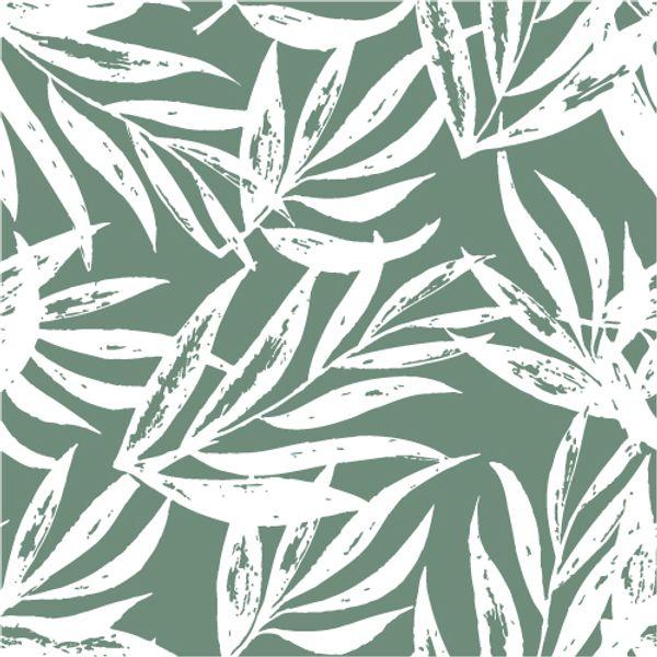 Mantel ecocuero  Laurel verde 1.4 x 1.8 mts