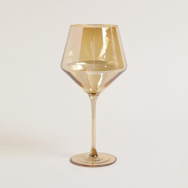 Copa de vidrio doré de base ancha  750 ml