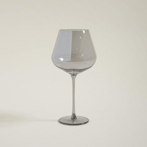 Copa de vidrio mirror de base ancha  750 ml